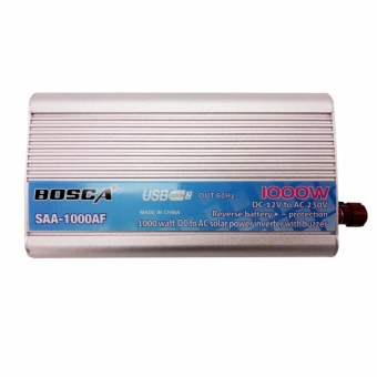 Bosca SAA-1000AF 1000W 12V DC To 220-230V AC Car Home Solar Power Inverter with Buzzer #0124
