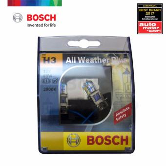 Bosch All Weather Plus H3 Halogen Bulb 12v 55w