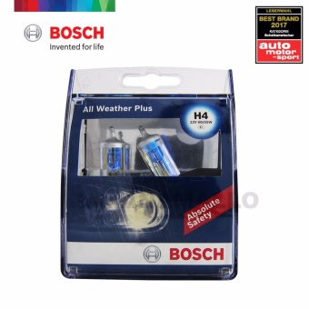 Bosch All Weather Plus H4 Halogen Bulb 12v 60/55w