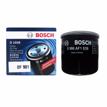 Bosch Oil Filter O1039 for Ford Lynx, Hyundai Eon / Grand i10 1.1 /i10 1.2, Kia Avella, Picanto, Rio, Rio Hatch, Mazda 2, Familia & MX-5