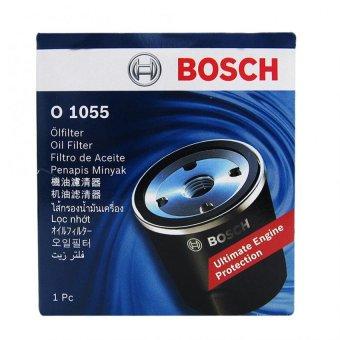 Bosch Oil Filter O1055 for Isuzu Crosswind 2.5 / Isuzu Fuego 2.5 /2.8 & Isuzu Hi-Lander 2.5 & Trooper 3.2i - 2