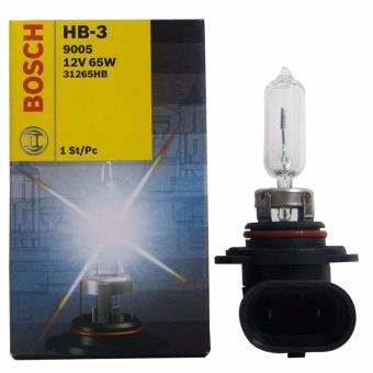 Bosch Standard HB3 Halogen Bulb 12v/65w (Clear) Price Philippines