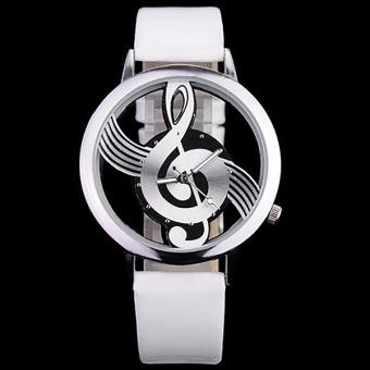 Bounabay Luxury Design Quartz Analog Hollow Music Note G4 G ClefWatch - intl - 2