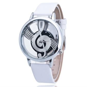 Bounabay Luxury Design Quartz Analog Hollow Music Note G4 G ClefWatch - intl - 5
