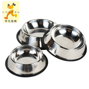 Bowl stainless steel large small dog bowl golden retriever dog