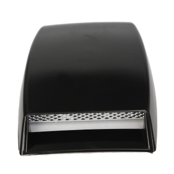 Brand New Size 10x 6.3x 2 Car Decorative Air Flow Intake Cover Hood Vent Bonnet