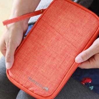 Brand Travel Journey Document Organizer Wallet Passport ID CardHolder Ticket Credit Card Bag Case - intl - 4