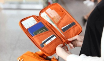Brand Travel Journey Document Organizer Wallet Passport ID CardHolder Ticket Credit Card Bag Case - intl - 3