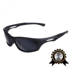 dc37c0864e BRIGADA Cool Black Sport Sunglasses