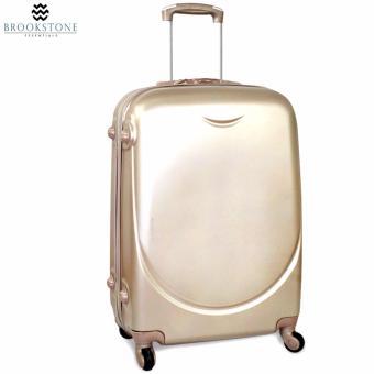 Brookstone Holli Crosley Lightweight Plain Hard Case 4 Wheel 2in1 Travel Luggage (830) - 2