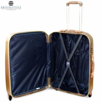 Brookstone Holli Crosley Lightweight Plain Hard Case 4 Wheel 2in1 Travel Luggage (830) - 5