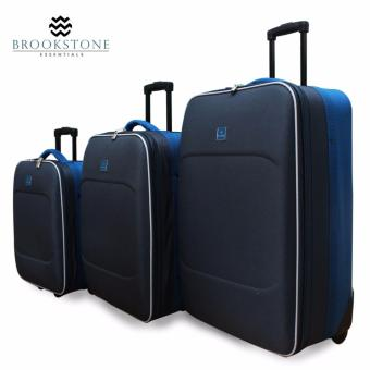 "Brookstone Saxoline Travel Luggage Set of 3 (19""/23""/27"") Price Philippines"