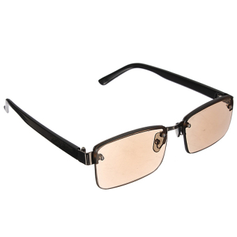 Brown Crystal Fashion Reading Glasses Sunglasses +2.5 Diopter Price Philippines