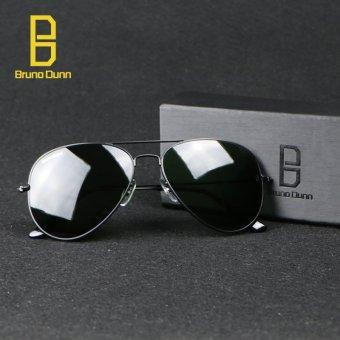 bruno dunn Sunglases aviator 3025 Classic Coating Shades Designer Sunglasses UV400 Anti-UV (Black) g15 58mm - intl - 5