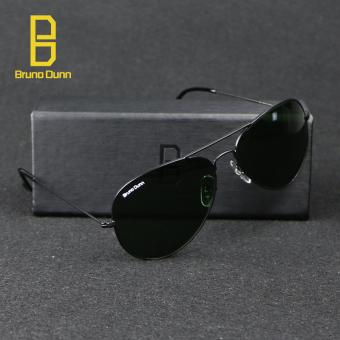 bruno dunn Sunglases aviator 3025 Classic Coating Shades Designer Sunglasses UV400 Anti-UV (Black) g15 58mm - intl - 3