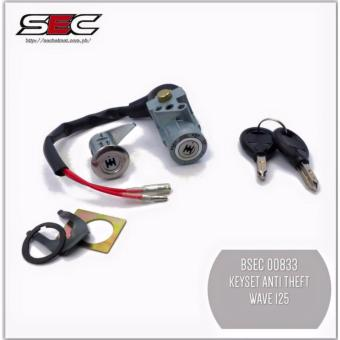 BSEC 00833 Anti-Theft Key Set for Honda Wave 125