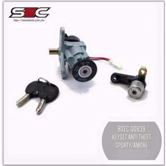 BSEC 00839 Anti-Theft Key Set for Yamaha Mio Sporty/Amore