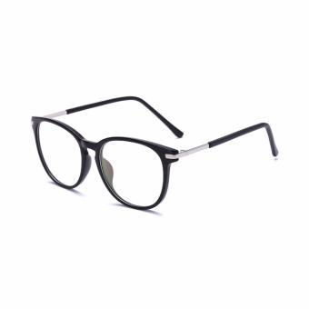 [Buy 1 Get 1 Freebie] AORON Brand Retro Reading Glasses Anti-fatigue Computers Glasses Anti-blue Light Eyeglasses 3631(Black) - intl - 4