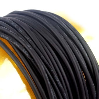 BUYINCOINS 10m - 2mm Heat Shrinkable Tube Shrink Tubing Black Wire Wrap - intl