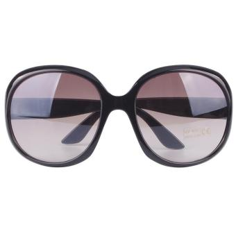 BUYINCOINS Hot Fashion Vintage Shades (Black)
