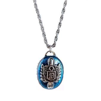 BUYINCOINS The Vampire Diaries Necklace (Silver) - picture 2