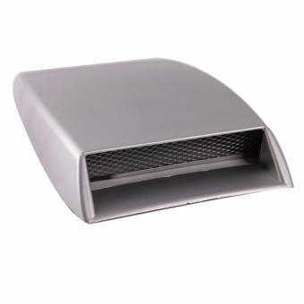 Car Air Flow Intake Vent Bonnet Cover Decorative Hood Scoop Auto Turbo DIY New