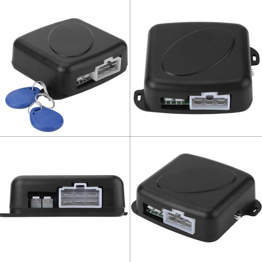 Philippines Car Alarm Engine Push Stop Start Button Lock Starter Mobil Rfid Ignitaion With Remote Keyless Entry System Black Ignitionkeyless Intl