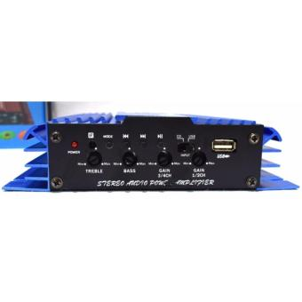 Car amplifier 4 channel 2800 Watts comes with usb/bluetooth - 2