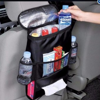 Car Auto Seat Back Multi-Pocket Storage Cool Hot Bag Organizer
