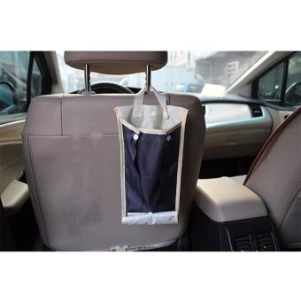 Car Back Seat Umbrella Holder Hanging Waterproof Organizer Bag - 2