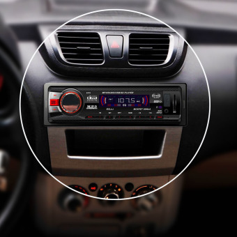 Car Bluetooth Aaudio Stereo In Dash AM FM Aux Input Receiver with SD USB MP3