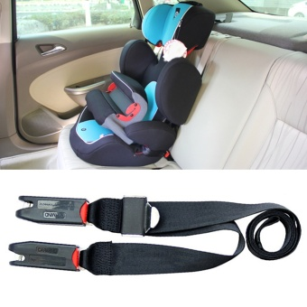 Car Child Safety Seat Isofix/latch Soft Interface Connecting BeltFixing Band,Black - intl - 2