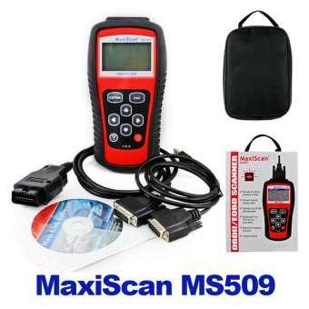 Car Code Reader Autel MS509 OBDII OBD Auto OBD2 Scanner MaxiscanMS509 Automotive Diagnostic Tool - intl