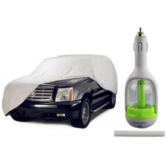 Car Cover SUV With Nanum Aromatherapy Car Humidifier (YellowGreen)