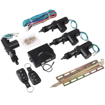 Car Door Central Lock Automatic Locking Alarm Security Keyless Entry System Kit - intl Price Philippines