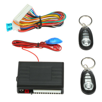 Car Door Lock Keyless Entry System with Trunk Release & HornControl button Remote Central Locking Kit for VW