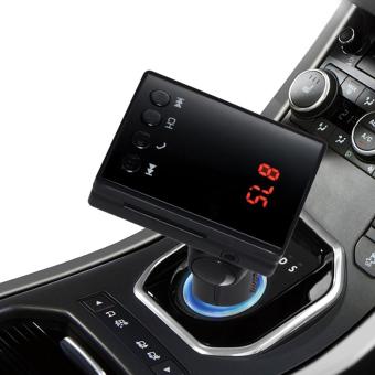Car MP3 Audio Player Bluetooth FM Transmitter Wireless FM Modulator Car Kit - 2