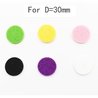 Car Perfume Supplemental Pad Essential Oil Diffuser Cotton Decorate Jewelry Mat - intl - 5