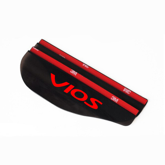 Car Side Mirror Shield Eyebrow Rain Cover For VIOS Car Accessories - intl