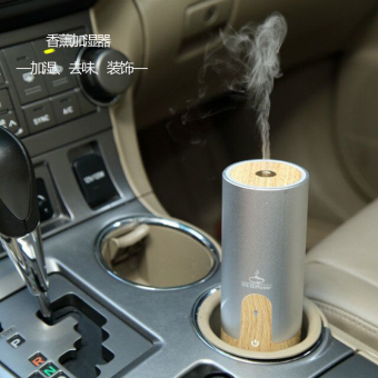 Car Ultrasonic Aroma Oil Diffuser Air Humidifier Mist Maker(Silver) Price Philippines