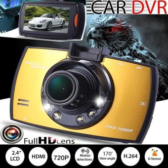 Car Vehicle 2.7 Inch Driving Video Recorder Camera DVR Dash Cam Camcorder - intl