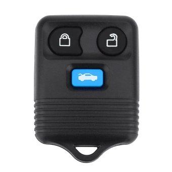 Car Vehicle Ignition Remote Control Keyless Entry Key for Ford (3BUTTON) (Black) - intl Price Philippines