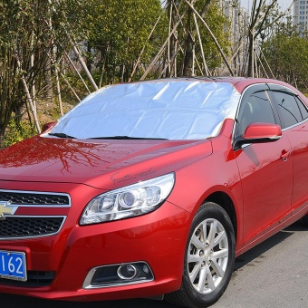 Car Windshield Shade Car Windscreen Cover Anti Snow Frost Ice Shield Dust Protector Auto Sun Cover Front Window Screen - intl - 2