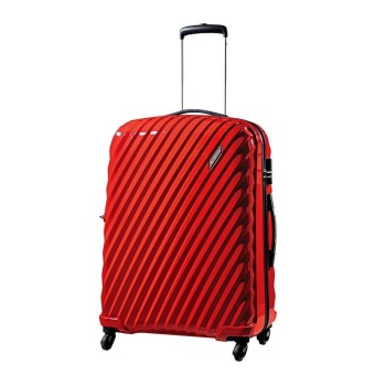 "Carlton Velocity-Txt Hard Case Luggage 25"" (Red)"