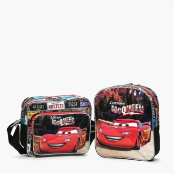 Cars Boys Lightning McQueen Backpack and Messenger Bag Set Price Philippines