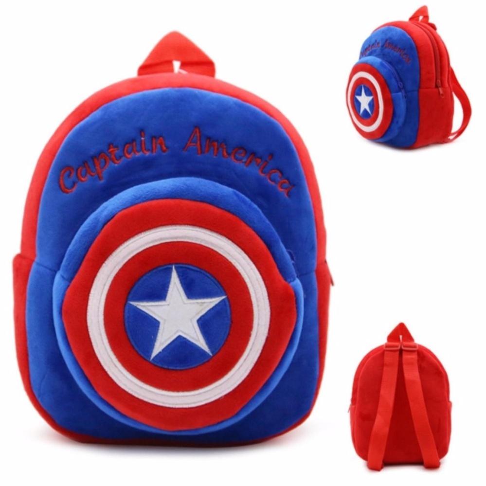 Cartoon Plush Bag For Kids 9 inches