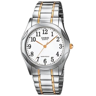 Casio Analog Dress Watch Unisex Stainless Steel Strap MTP-1275SG-7BDF
