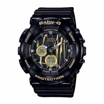 Casio Baby-G BA-120SP-1A Neobrite Shock Resistant Watch for Women Black - intl