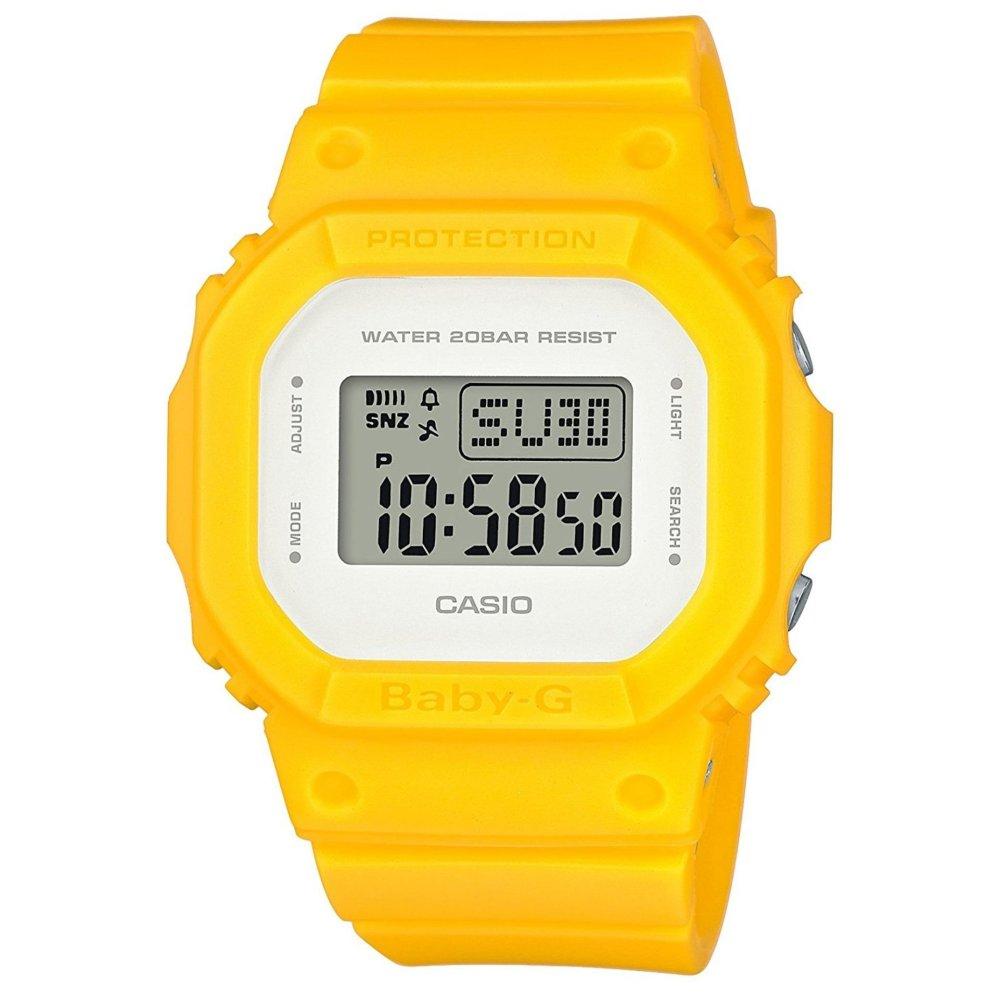 Philippines Casio Baby G Bgd 500 Series Womens Yellow Resin Strap Bga 230 7b2 Original 560cu