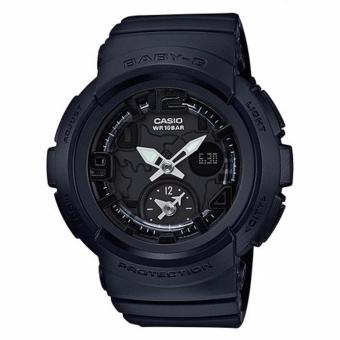 Casio Baby-G Women's Black Resin Strap Watch BGA-190BC-1B